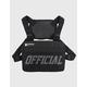 OFFICIAL Melrose Chest Utility Black Mens Bag