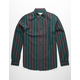 VSTR Oxford Stripe Hunter Mens Shirt