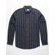 VSTR Oxford Stripe Navy Mens Shirt