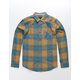 OCEAN CURRENT Lavell Indigo Mens Flannel Shirt