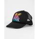 BILLABONG Ohana Black Combo Girls Trucker Hat