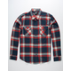 RSQ Crest Mens Flannel Shirt