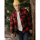 ELDON Nantucket Mens Flannel Shirt