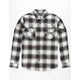 SHOUTHOUSE Del Ray Mens Flannel Shirt