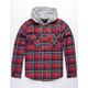 VSTR Scotty Mens Hooded Flannel Shirt