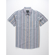 SHOUTHOUSE Vintage Stripe Mens Shirt