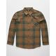 VOLCOM Caden Plaid Boys Flannel Shirt