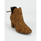 QUPID Chop Out Womens Booties