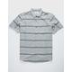 HURLEY Thompson Woven Gray Mens Shirt