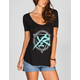 YOUNG & RECKLESS Power Circle Womens Tee