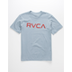 RVCA Big RVCA Light Blue Boys T-Shirt