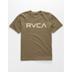 RVCA Big RVCA Olive Boys T-Shirt