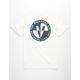 VANS Cross Point White Mens T-Shirt