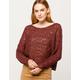 BILLABONG Chill Out Womens Crop Sweater