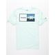 HURLEY Natural Mint Boys T-Shirt