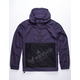 HUF Wire Frame 2.0 Purple Mens Anorak Jacket