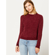 COCO & JAIMESON Chenille Womens Sweater