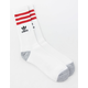 ADIDAS 3 Stripes Roller Mens Crew Socks