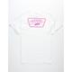 VANS Full Patch Back White Mens T-Shirt