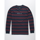 BRIXTON Hilt Navy Mens T-Shirt