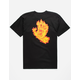 SANTA CRUZ Flame Hand Mens T-Shirt