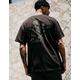SALT LIFE Skull N Hooks Pocket Black Mens T-Shirt