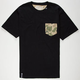 LRG Peekaboo Mens Pocket Tee