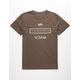 RVCA Brand Levels Mens T-Shirt