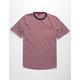 DISTORTION Trip Stripe Mens T-Shirt