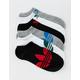 ADIDAS 6 Pack Original Trefoil Mens No Show Socks