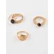 FULL TILT 5 Piece Signet & Stone Rings
