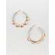 FULL TILT Coin Hoop Earrings