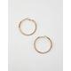 FULL TILT Star & Rhinestone Hoop Earrings