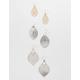 FULL TILT 3 Pack Filigree Earring Set