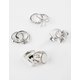 FULL TILT 10 Piece Bow/Moon Stone/Arrow Rings