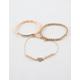 FULL TILT 3 Pack Heart & Love is Love Bracelets