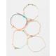 FULL TILT 5 Pack Hamsa & Braided Bracelet Set