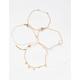 FULL TILT 5 Pack Dainty Heart Bracelet Set