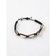 FULL TILT Puka Shell Black Bracelet
