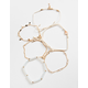 FULL TILT 6 Pack Star/Key Bracelets