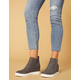 MADDEN GIRL Piperr Gray Womens Wedge Shoes