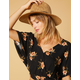 WEST OF MELROSE Nubby Rancher Fedora