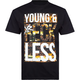 YOUNG & RECKLESS Bars City Lights Mens T-Shirt