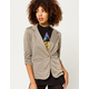 SKY AND SPARROW Cinch Sleeve Womens Blazer