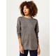 IVY & MAIN Boyfriend Tunic Womens Sweater