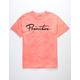 PRIMITIVE Nuevo Script Washed Coral Mens T-Shirt