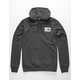 THE NORTH FACE Patch Charcoal Mens Hoodie