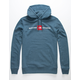 THE NORTH FACE Reds Navy Mens Hoodie