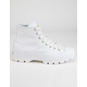 CONVERSE Chuck Taylor All Star Lugged White High Tops
