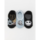VANS x The Nightmare Before Christmas 3 Pack Sally And Jack Girls Canoodle Socks